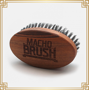 MACHO Cepillo para barba Military Brush