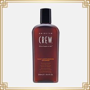 AMERICANCREW DAILY MOISTURISING SHAMPOO (250ml)