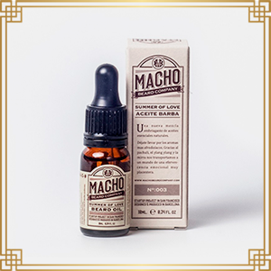 MACHO Aceite barba SUMMER OF LOVE
